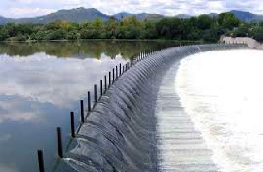 The Endhó dam in Hidalgo.