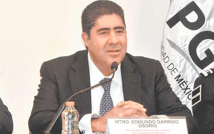 Edmundo Garrido, former attorney general of Mexico City.