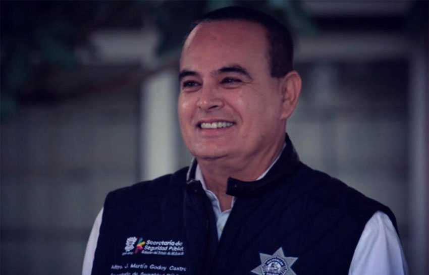 Security Secretary Godoy was one of four victims in today's helicopter crash.