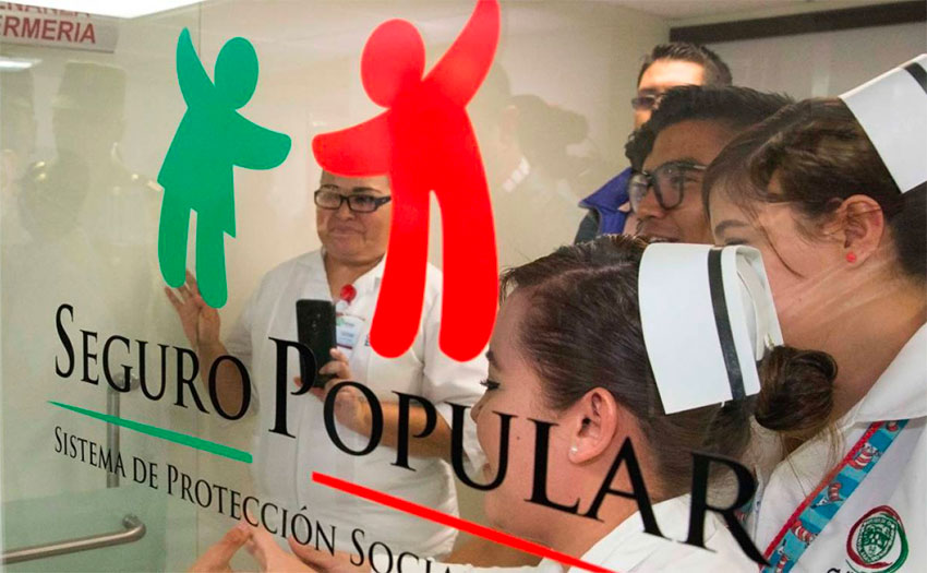 Seguro Popular's replacement will work with schools to train more doctors.