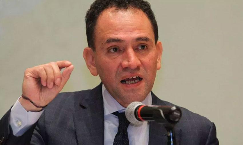 Finance Secretary Herrera announces spending package.