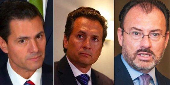 Peña Nieto, Lozoya and Videgaray.