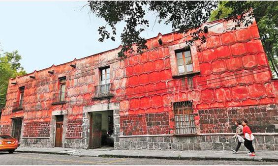 Casa da la Malinche in Coyoacán.