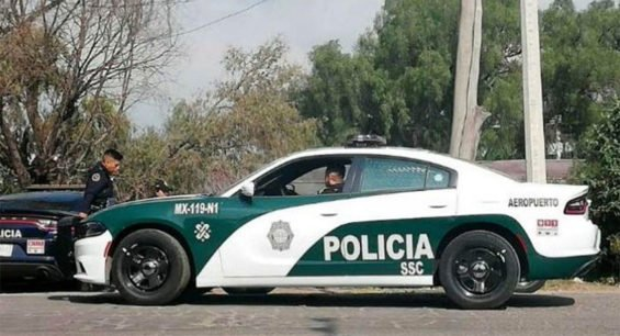 The new look for Mexico City police vehicles.