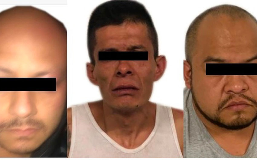 Three of the suspects in the murder of Norberto Ronquillo.