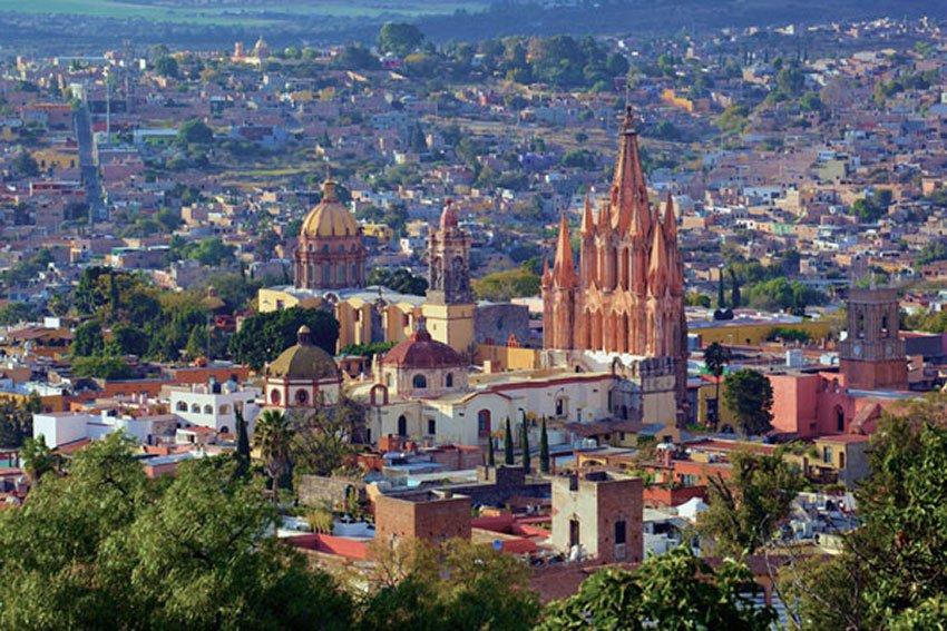 San Miguel de Allende, Mexico's top city destination.