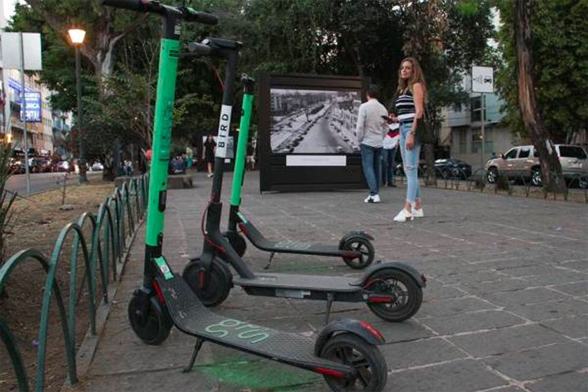 Grin scooters: thieves like them.