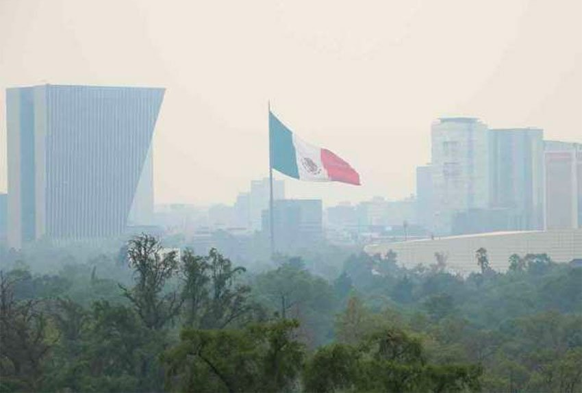 Mexico City on a bad day.
