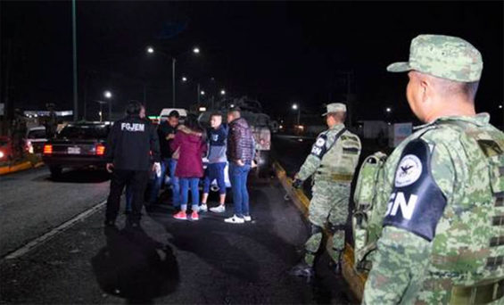 Operation Sweep rounds up criminal suspects in México state.