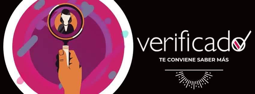 The logo of established fact-checker Verificado.
