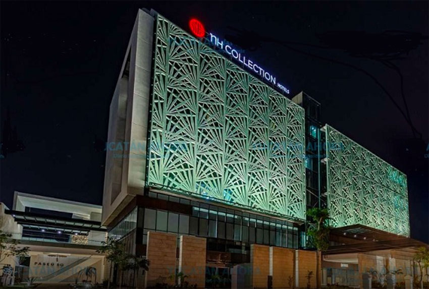 The new NH Collection Hotel in Mérida.