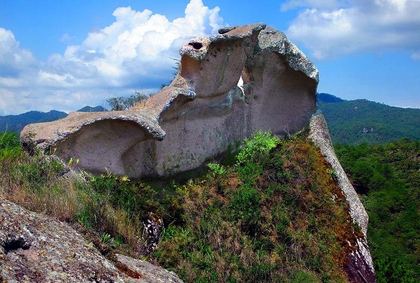 La Campana, a bizarre little mountain.
