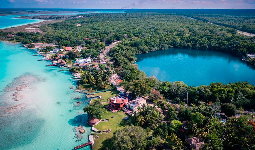 Real estate prices are soaring in Bacalar.