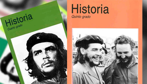 Revolutionary leaders feature prominently in union textbooks.