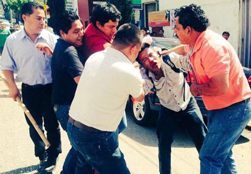 CNTE members strike a few blows for education