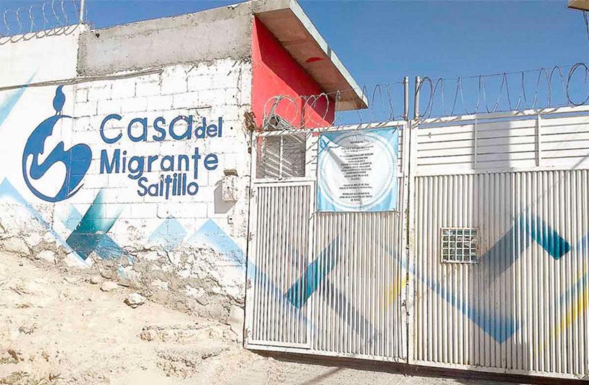 Migrants' shelter in Saltillo