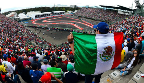 Last year's Formula 1 race in Mexico City.