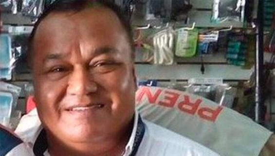 Veracruz reporter Ruiz.