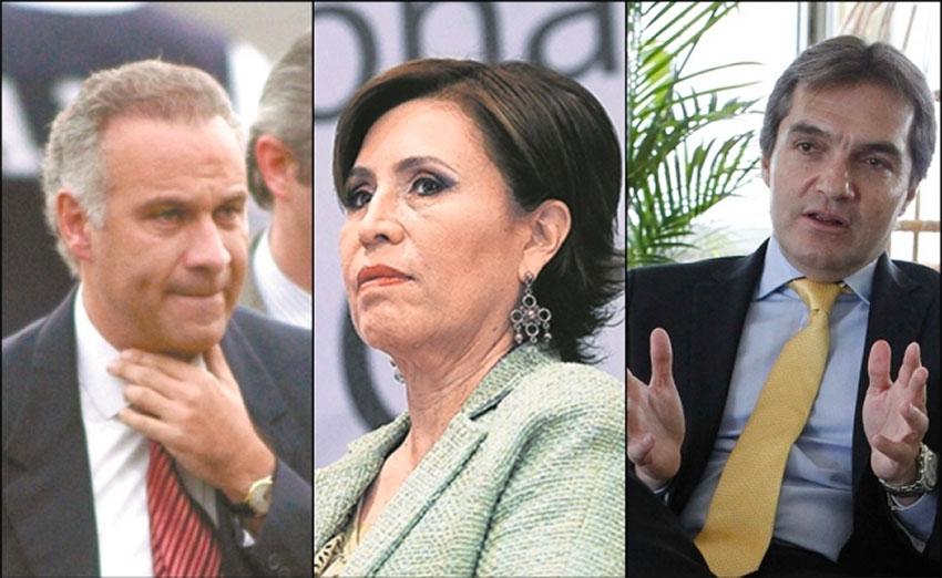 Collado, Robles and Ahumado: the three go back.