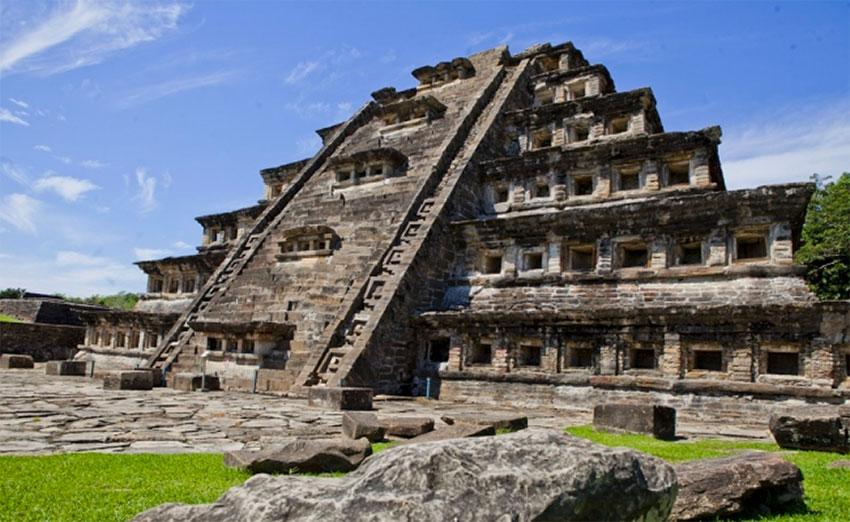 The Tajín archaeological site in Veracruz.