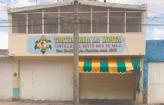 This tortillería closed because its owner and two staff were shot dead.