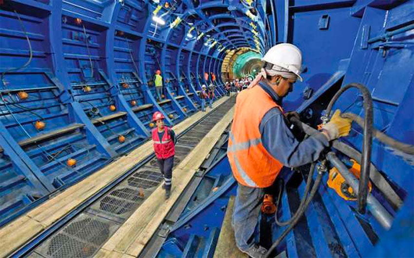 Mexico City's massive drainage tunnel is now ready to operate.