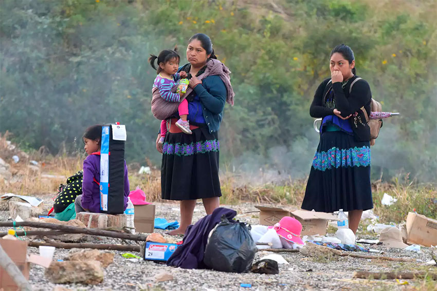 As a group, indigenous women are the poorest people in Mexico. They are also the most likely to receive inadequate medical care and to die in childbirth