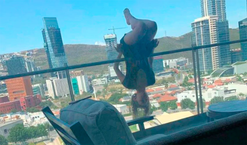 Woman Falls 25 Meters Practicing Extreme Yoga Breaks Over