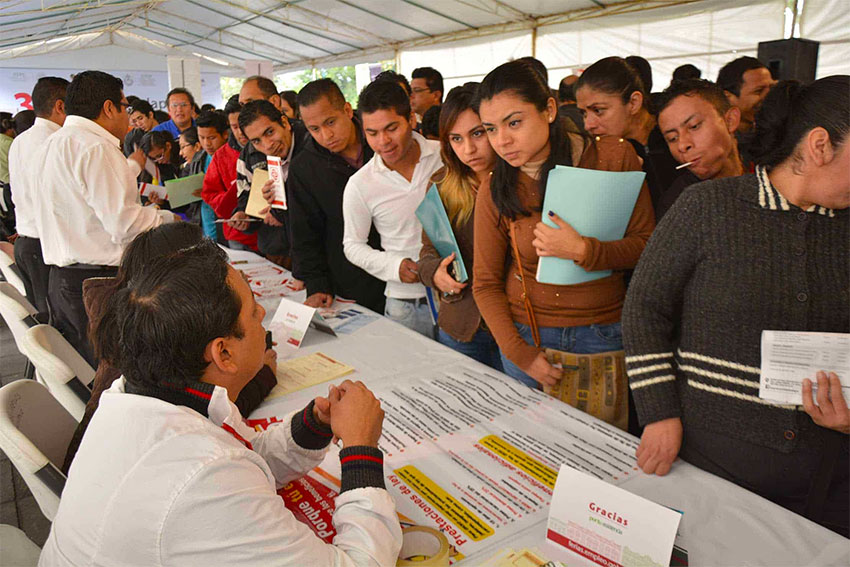 Nearly one million youths are reported to have signed up for the employment program.