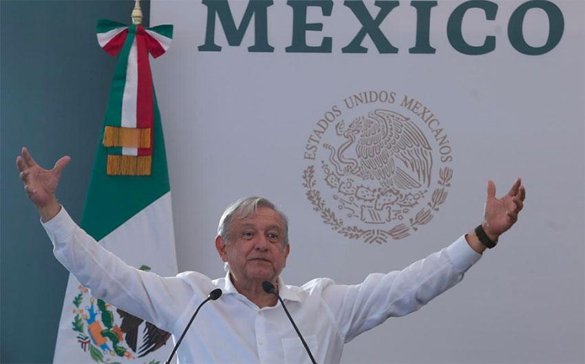 López Obrador declares 'zero corruption.'