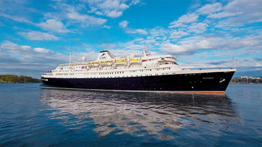 The Astoria will make its first cruise out of Puerto Peñasco on December 7.