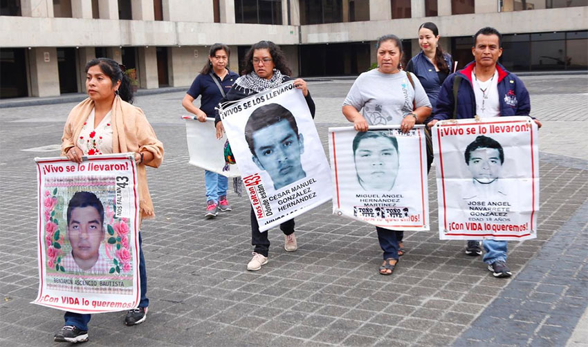 Parents of Ayotzinapa students still wonder where their children are, five years later.