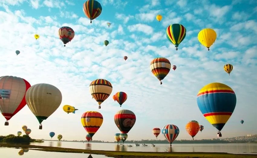 The balloon festival in León, Guanajuato, is one of several big festivals scheduled during the remaining months of 2019.