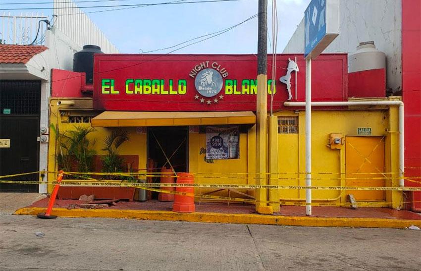 The Caballo Blanco in Coatzacoalcos.