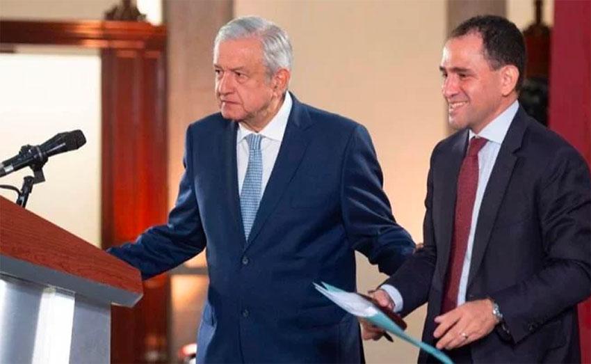Optimists President López Obrador and Finance Secretary Herrera.