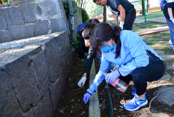The second edition of an event to clean up cigarette butts at Ciudad Universitaria (University City) in southern Mexico City took place last Saturday.