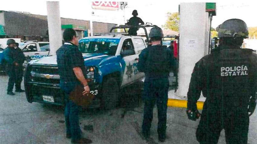 tamaulipas gas station