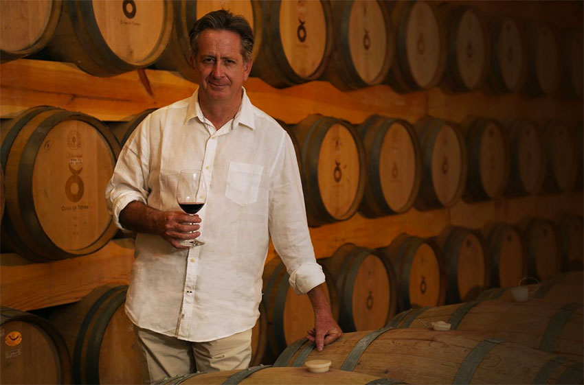 Ricardo Vega of Cuna de Tierra winery in Guanajuato.