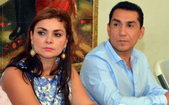 The former mayor of Iguala and his wife prior to their arrest in 2014.