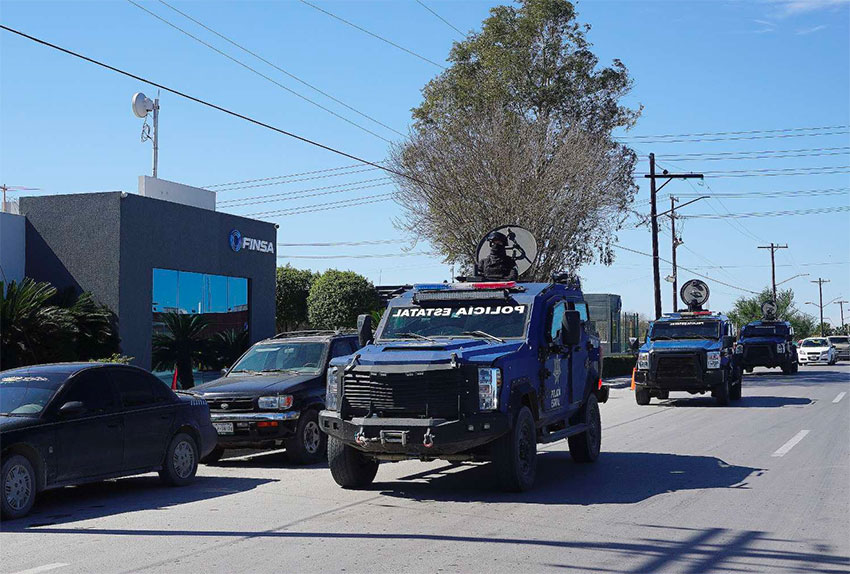 Police in Tamaulipas are accused of murdering nine people.