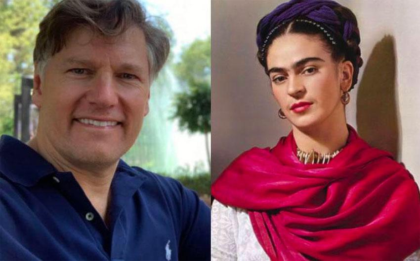 Ambassador Landau questioned Kahlo's political leanings.