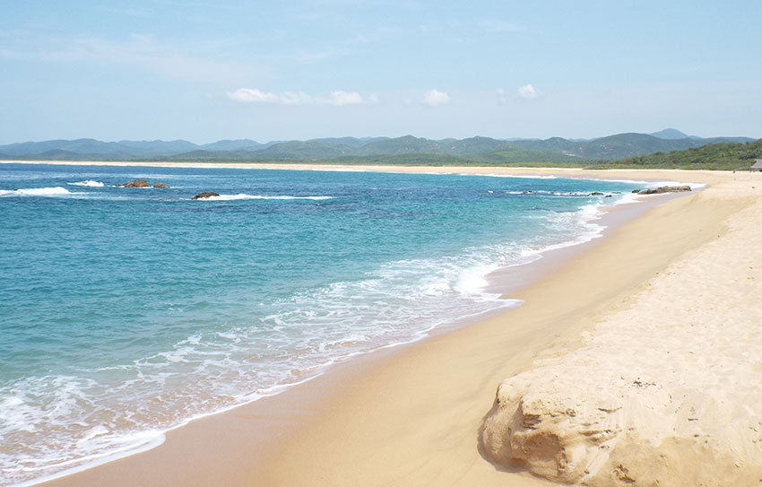 Mayto beach: 'absolutely divine.'