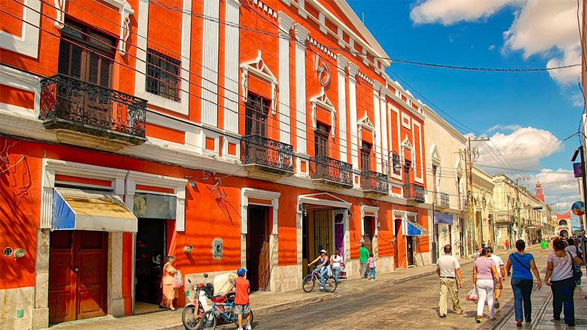 Mérida, Yucatán, ranked one of the world's safest cities.