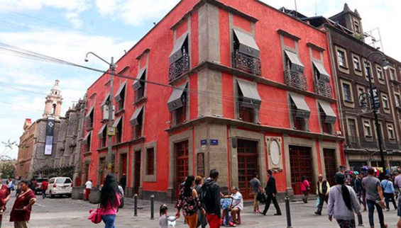 Mexico City building that was home to the first printer in the Americas.