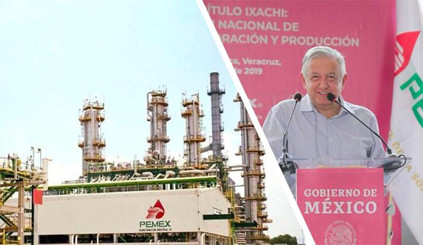As world leaders discussed climate change, AMLO discussed increased refinery capacity.