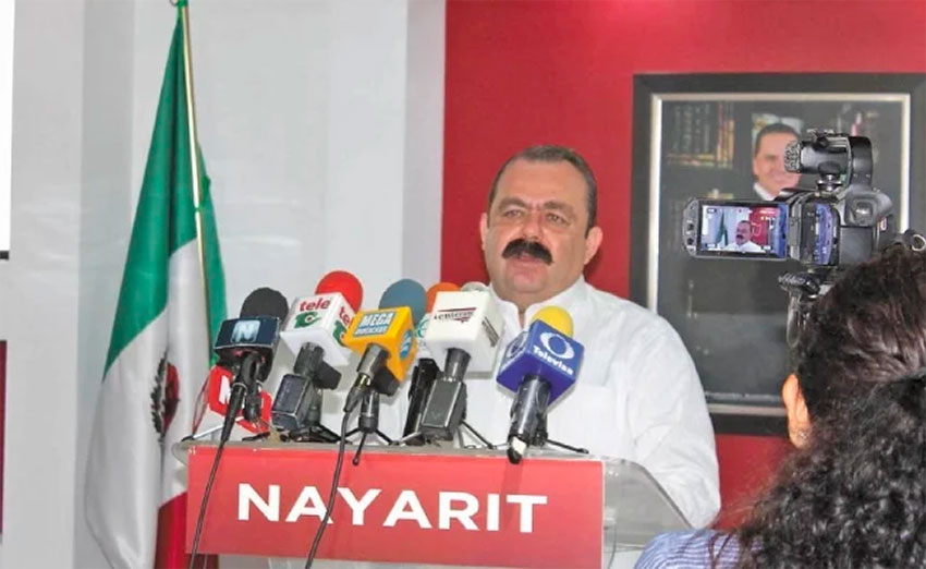 Prosecutors seek a life sentence for ex-attorney general Veytia.