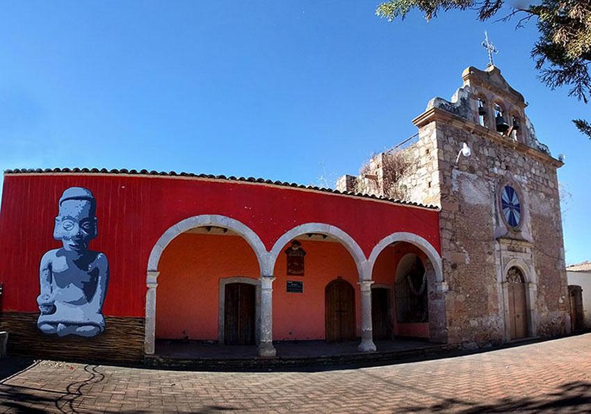 The Sauz de Cajigal museum.