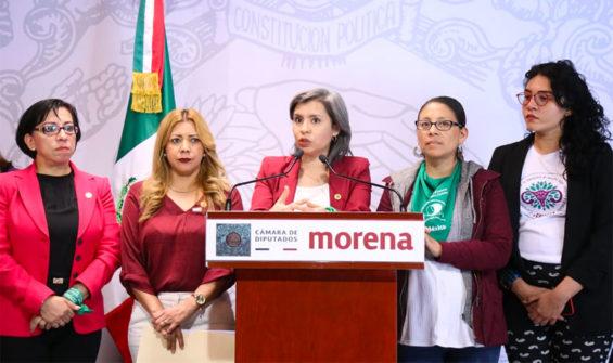Morena deputies announce their decriminalization plans.
