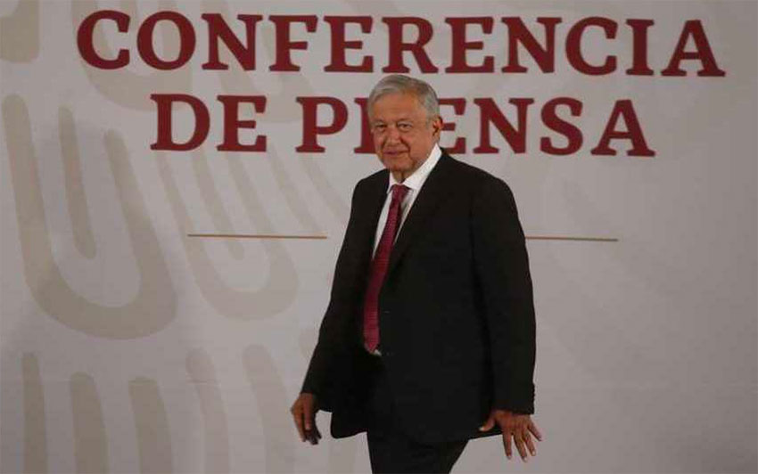 AMLO: 'We don't commit arbitrary acts.'