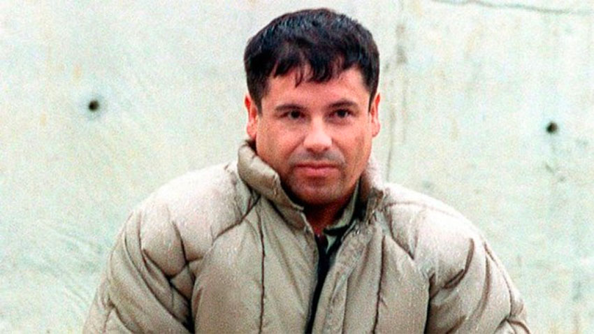 Guzmán in 1993, after his first arrest.